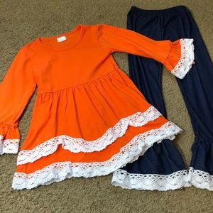 Other - Boutique Outfit Size 4/5 Perfect for Fall Photos!